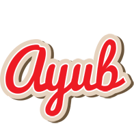 Ayub chocolate logo
