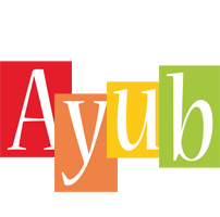 Ayub colors logo