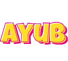Ayub kaboom logo