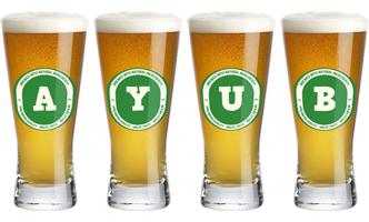 Ayub lager logo