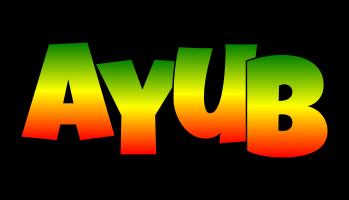 Ayub mango logo