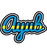 Ayub sweden logo
