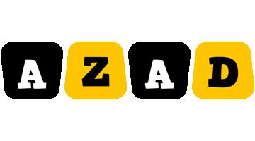 Azad boots logo