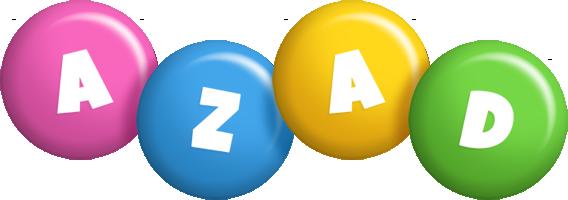 Azad candy logo