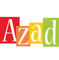Azad colors logo