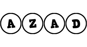 Azad handy logo