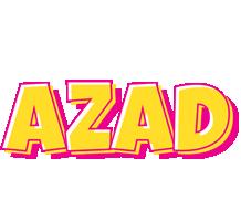 Azad kaboom logo