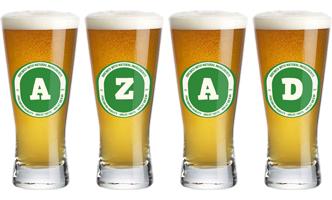 Azad lager logo