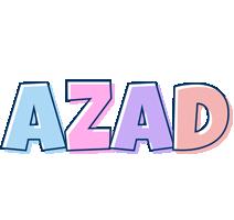 Azad pastel logo