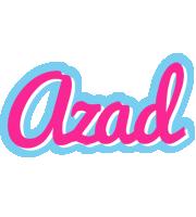 Azad popstar logo