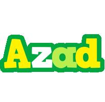 Azad soccer logo