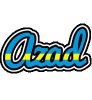 Azad sweden logo