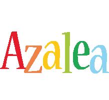 Azalea birthday logo