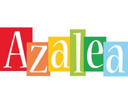 Azalea colors logo