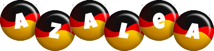 Azalea german logo