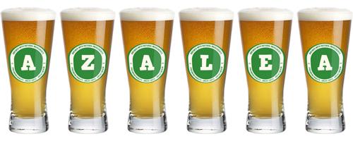 Azalea lager logo