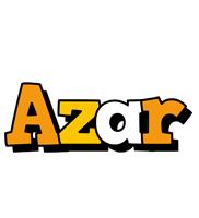 Azar cartoon logo