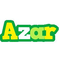 Azar soccer logo