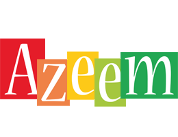 Azeem colors logo