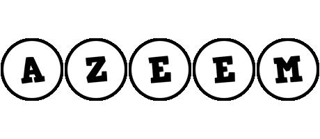 Azeem handy logo