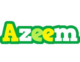 Azeem soccer logo