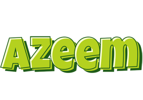 Azeem summer logo