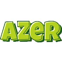 Azer summer logo