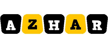 Azhar boots logo