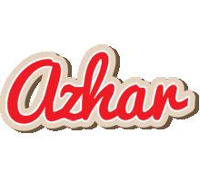 Azhar chocolate logo