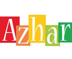 Azhar colors logo