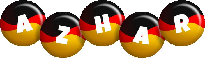 Azhar german logo