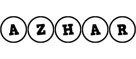 Azhar handy logo