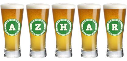 Azhar lager logo