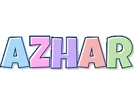 Azhar pastel logo