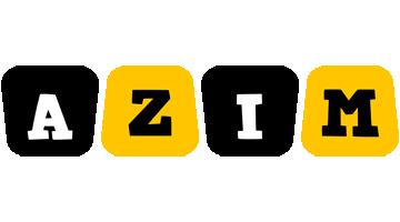 Azim boots logo