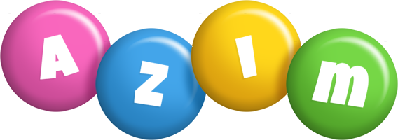 Azim candy logo