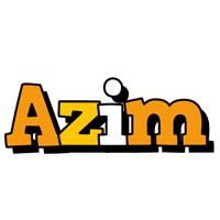 Azim cartoon logo