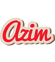 Azim chocolate logo