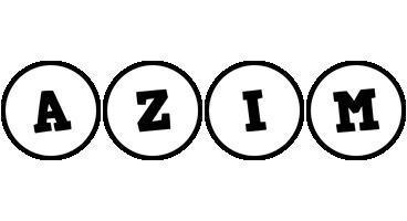 Azim handy logo