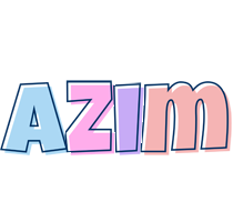 Azim pastel logo