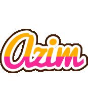 Azim smoothie logo