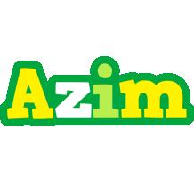 Azim soccer logo