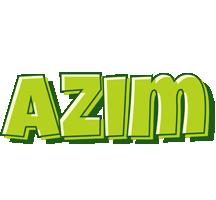 Azim summer logo