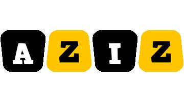 Aziz boots logo