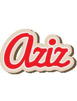 Aziz chocolate logo