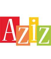 Aziz colors logo