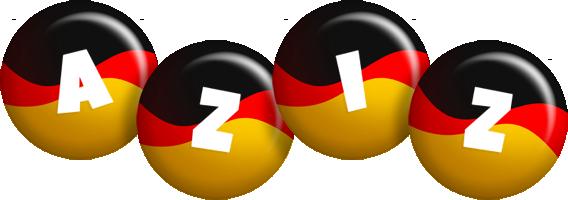 Aziz german logo