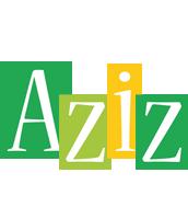 Aziz lemonade logo