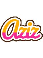 Aziz smoothie logo