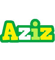 Aziz soccer logo